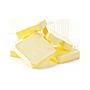 Lydytas sūris be fono