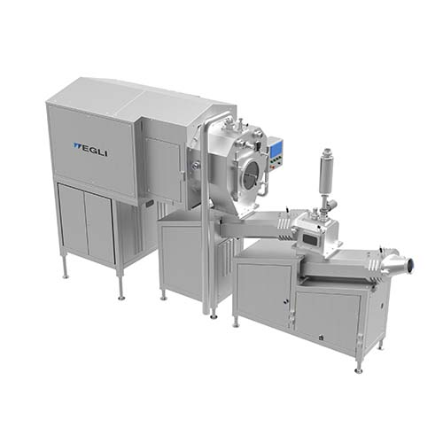 Continuous Butter Making machine for butter production from cream.