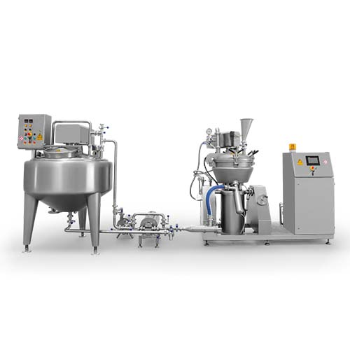 Cheese processing line